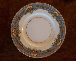 Twelve Mintons dinner plates