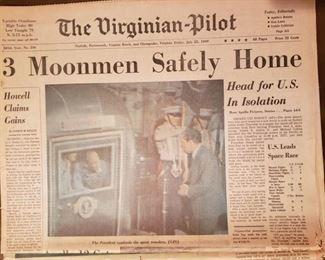 The Virginian Pilot Moon paper