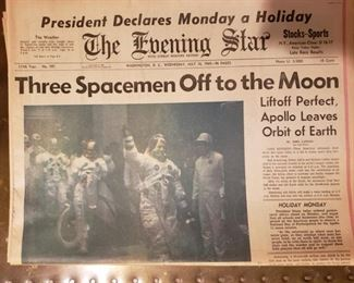 The Evening Star Moon papers