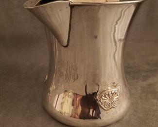 Sterling  pitcher by Shreve Crump  & Low