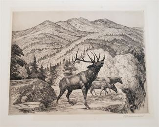 Otto Wackernagel etching