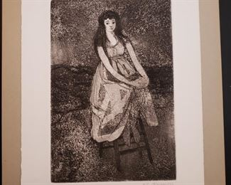 Lily Harmon signed & number lithograph