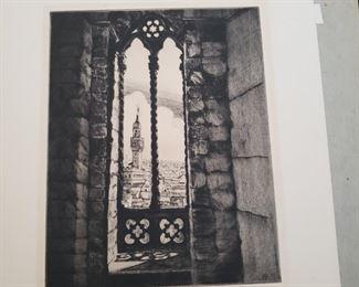 """""""Plazzo Vecchio"""" limited edition original denpoint by Carman Bonanno"""