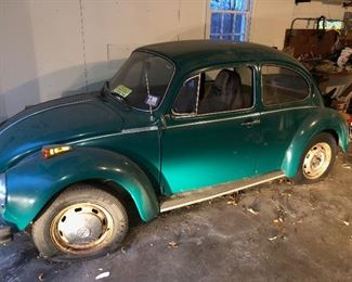 1974 VW Super Beetle Original owner 42k Miles All Original