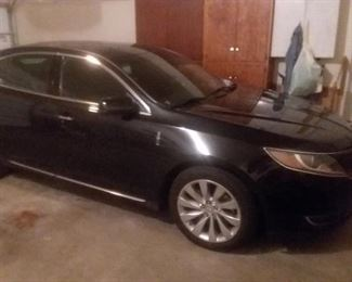 2014 Lincoln Mks. 12k actual miles.