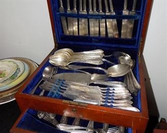 Large set of Silverplate