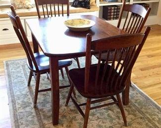 Amish built dining set