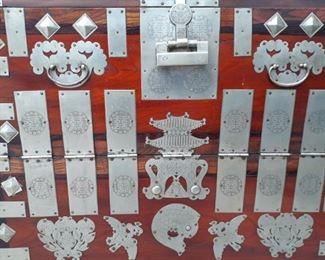 Dogah wood Korean chest
