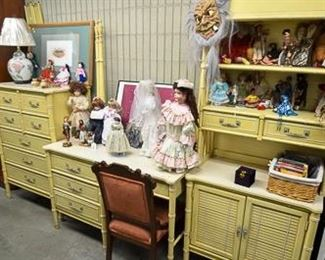 Fabulous Bedroom set and collectable dolls