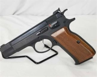 Action Arms AT 84 S 9mm Pistol Used, but excellent condition. Action Arms AT 84 S 9mm comes with (1) Magazine, hard case,  cleaning brush and instruction manual.