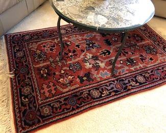 Beautiful area rug.
