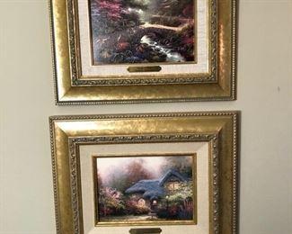 2 more Thomas Kinkade prints.