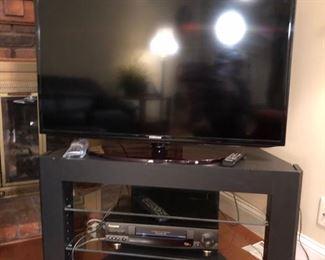 "40"" Samsung TV."