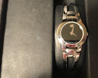 Movado watch.