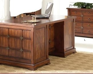 Martin (Kathy Ireland HOME) Portland Loft Office •	Lateral File - IMPL450 - 34w x 30h x 22d •	Executive Desk - IMPL680 - 68w x 30h x 22d
