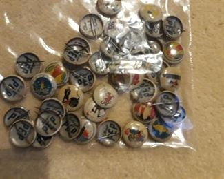 Military Kellogg Pep Pins from WWII