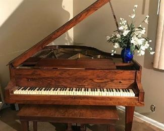 J. Bauer & Co. Baby Grand Piano