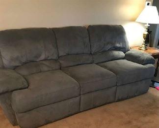 Wall Hugger Dual End Recliner Sofa