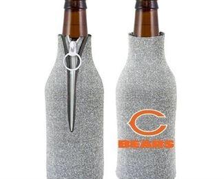 2 Chicago Bears Bottle Suit Holder - Glitter