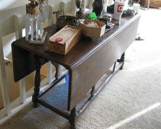 Very old Drop Leaf Table