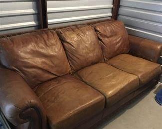 004 XL High End Leather Sofa