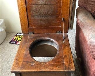 Antique Oak Potty