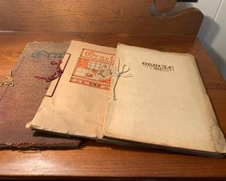 Early 1900's Lansing High School Yearbooks