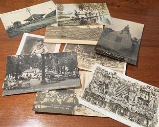 Photo Postcards including Michigan