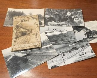 Post cards including Michigan