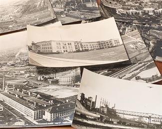 Ford Motors vintage photo postcards