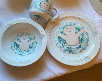Royal Worcester Cabbage Patch Children's Set