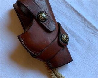 Antique revolver holster