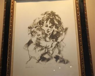 Hyacinth Killer etching