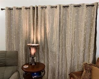 Pretty Curtains and Decor