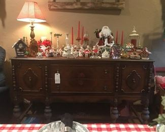 Antique Dining Buffet Sideboard cabinet