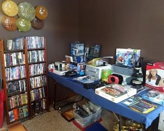 Electronics, DVDs, neck massagers, and so much more.