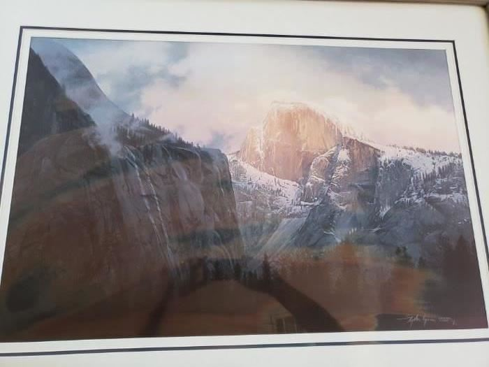 "Rare Stephen Lyman ""Dance of Cloud and Cliff"""