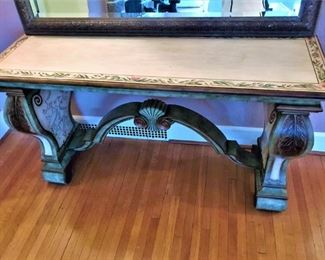 ABC Carpet Hand Painted Console Table