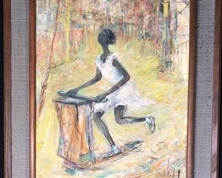 Original William Maynard Painting
