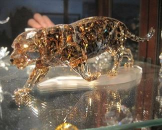 1,000's of large, rare & top of the line crystal figurine ever made by Swarovski. Most come with their original boxes!.