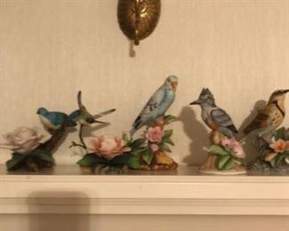 Avery Collectibles Porcelain Birds