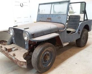 1948 Willys Jeep Civilian Version