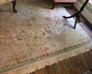 One of several Oriental Rugs