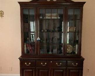 Beautiful Cherry China Cabinet