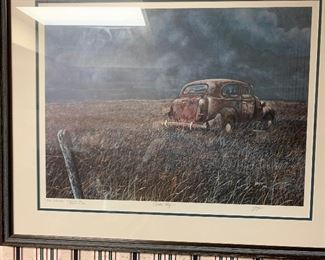 Signed Print George Griffith