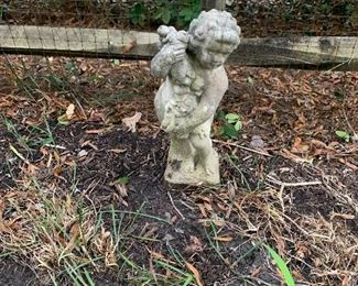 Seasons Child Garden Statue
