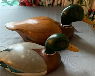 Signed Duck Decoys
