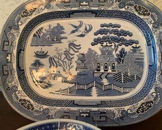 Williams-Sonoma Blue Willow Platter