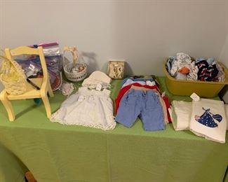 Vintage Infant Clothing
