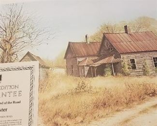 The House at the End of the Road - Mel Kester, North Carolina Artist